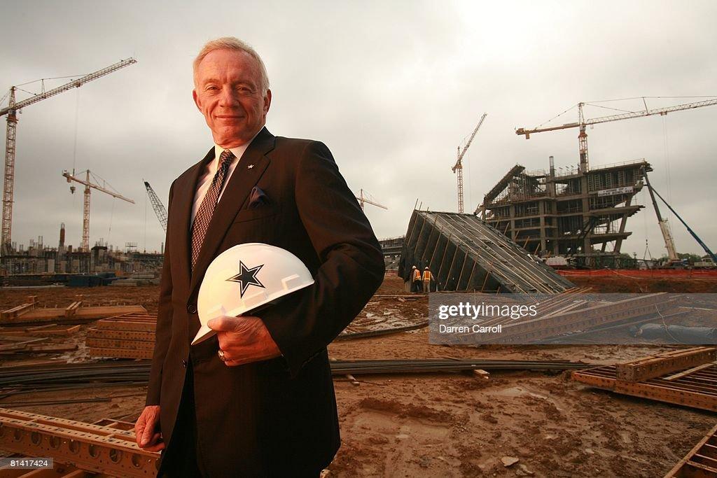 Dallas Cowboys Owner Jerry Jones : Fotografía de noticias