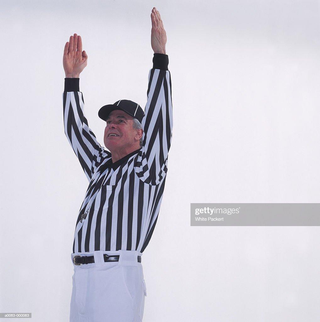 Football Referee : Stock Photo