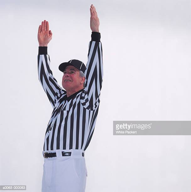football referee - american football referee stock pictures, royalty-free photos & images