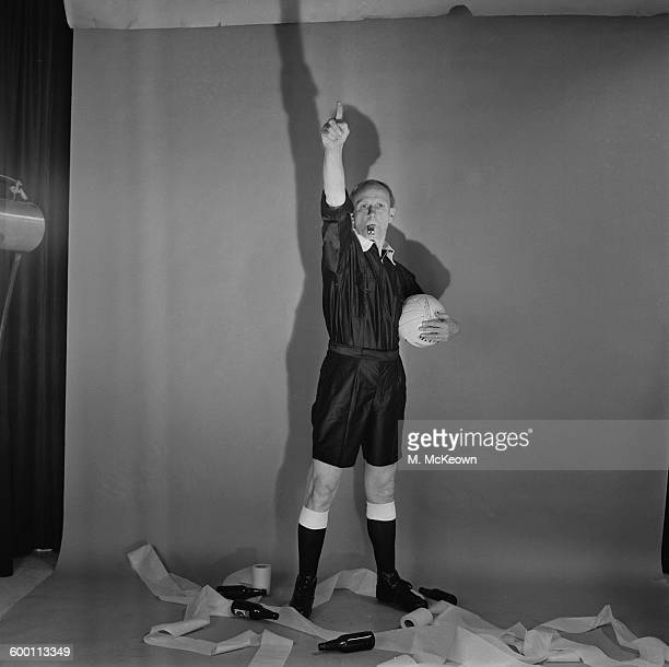 A football referee UK 28th November 1967 From the series 'The People We Love to Hate'