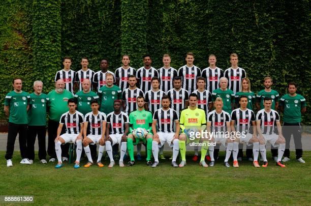 football Regional League West 2016/2017 SG Wattenscheid 09 team photograph row1fa fltr Maximilian Wagener Predrag Stevanovic Haymenn Bah Traore...