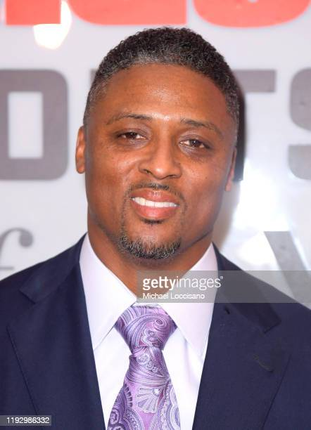 Football running back Warrick Dunn attends the 2019 Sports Illustrated Sportsperson Of The Year at The Ziegfeld Ballroom on December 09 2019 in New...