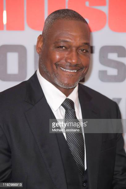 Football running backer Derrick Brooks attends the 2019 Sports Illustrated Sportsperson Of The Year at The Ziegfeld Ballroom on December 09 2019 in...