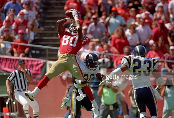 327 Jerry Rice Catch Photos And Premium High Res Pictures Getty Images