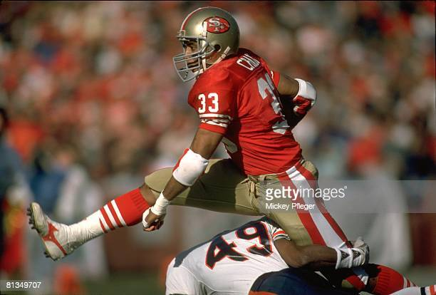Football San Francisco 49ers Roger Craig in action vs Chicago Bears San Francisco CA