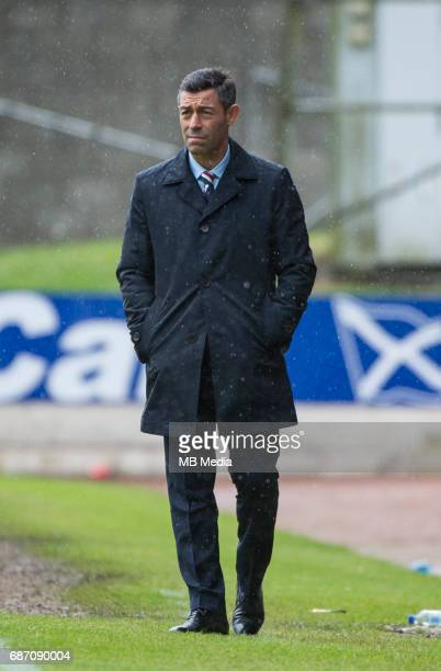 Football Scottish Premiere League St Johnstone v Rangers McDiarmid Park Perth Perth and Kinross UK 21/May/2017'nCredit Ian Jacobs'nRanger's manager...