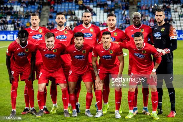 Football Spain B - La Liga SmartBank 2019-2020 / - Club de Futbol Fuenlabrada Team Group
