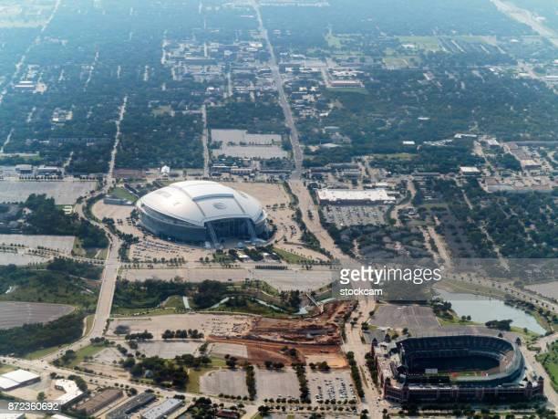 at&t football stadium dallas, arlington, texas, usa - arlington texas imagens e fotografias de stock