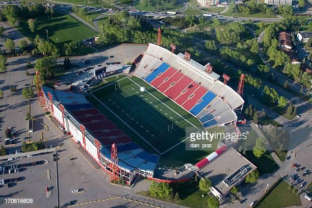 football stadium - calgary alberta stock pictures, royalty-free photos & images
