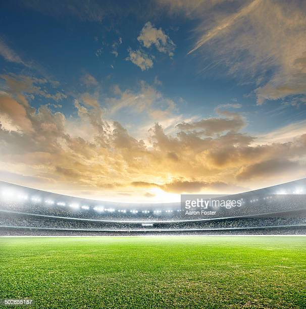 football stadium - stadium stock pictures, royalty-free photos & images