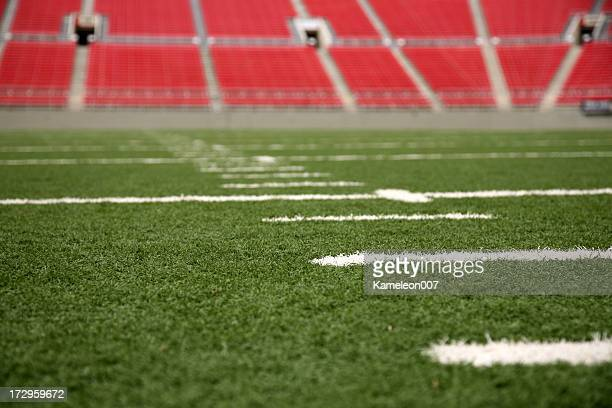 football stadium series - end zone stock pictures, royalty-free photos & images