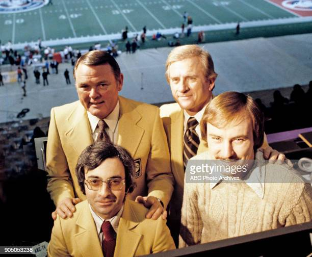 Football Sugar Bowl 1/1/71 Keith Jackson at Tulane Stadium in New Orleans for the Tennessee vs Air Force game won by Tennessee 3413