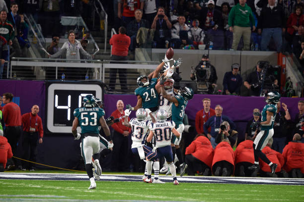 Philadelphia Eagles vs New England Patriots 7760310ab