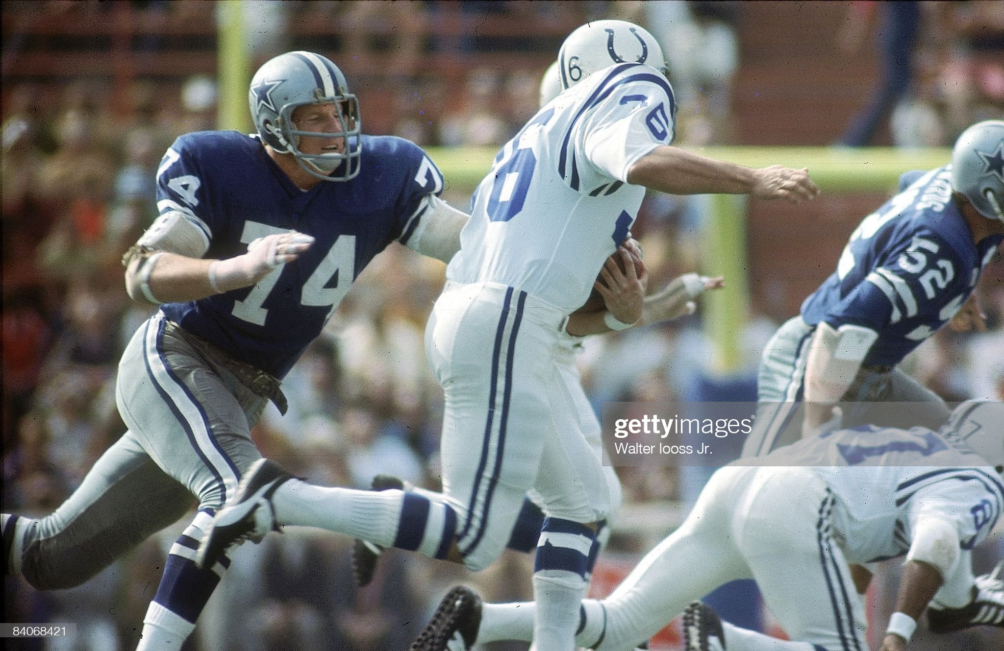 Dallas Cowboys vs Baltimore Colts, Super Bowl V : News Photo
