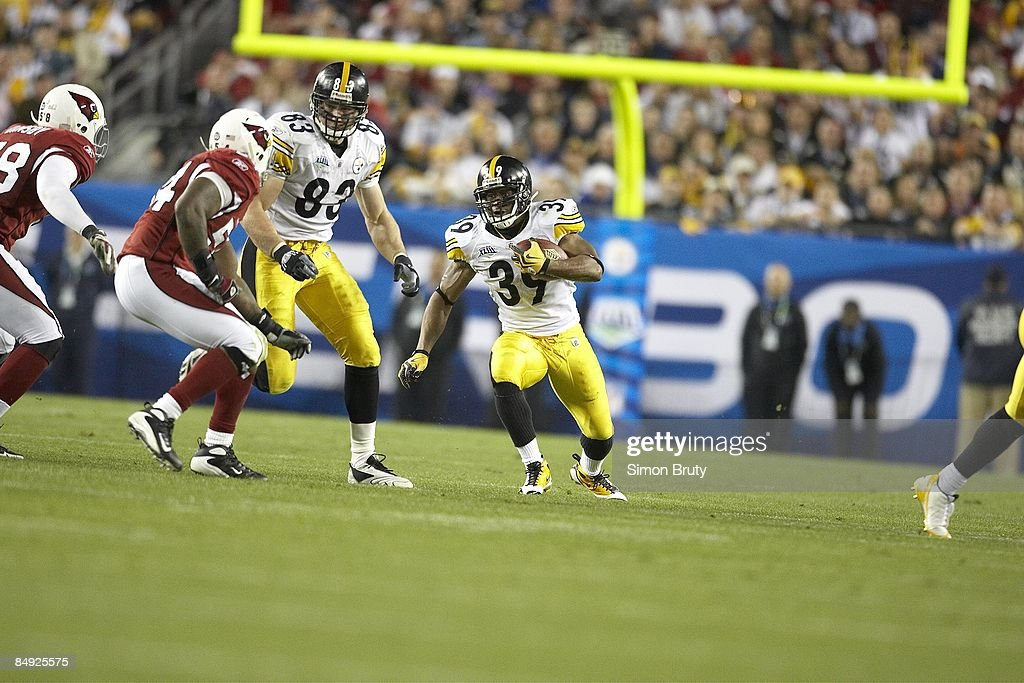 3bf01bf5 Pittsburgh Steelers Willie Parker in action, rushing vs Arizona ...