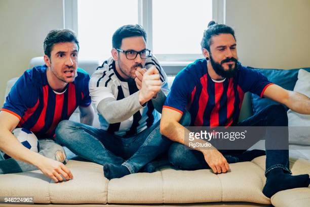 football supporters - mime stock photos and pictures