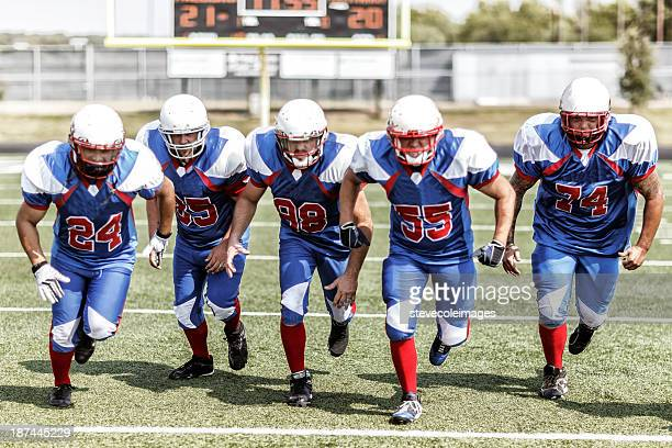 football team - defending stock pictures, royalty-free photos & images