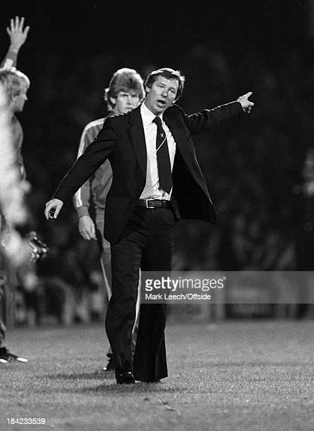 Football Testimonial Match Ipswich Town v Aberdeen Aberdeen manager Alex Ferguson