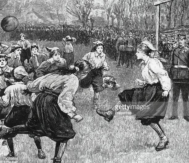 Football The British Ladies Football Club first played in 1895