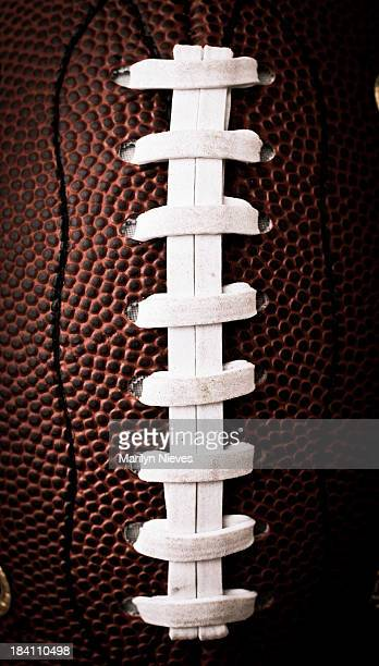 football thread - lace stock pictures, royalty-free photos & images