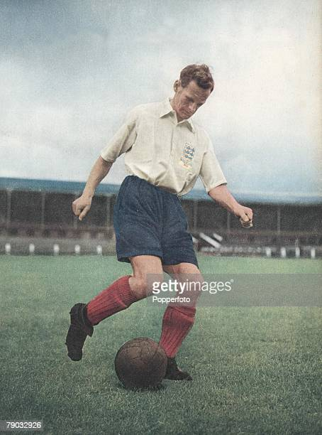 Football, Tom Finney, Preston North End and England, He started and finished his career with Preston and earned 76 England caps