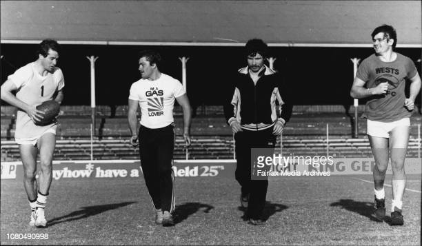 Wests The only remaining four players who were in the 1980 semi final where Wests lost to Easts 415Wayne Smith Terry Lamb Warren Boland Jim Leis...