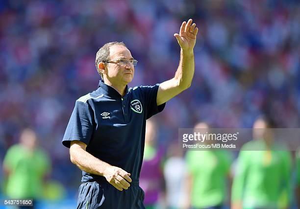 Football UEFA Euro 2016 Round of 16 game between France and Republic of Ireland Martin O'Neill Lukasz Laskowski / PressFocus/MB Media