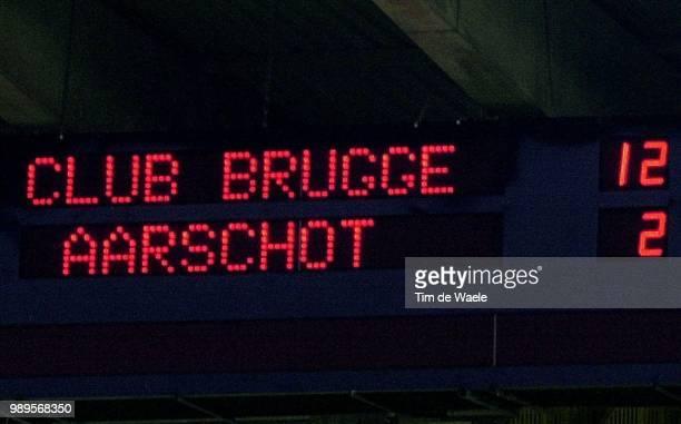 Football Voetbal Soccer Brugge Brugespict Tim De Waele Iso Sportbeker Van Belgie Coupe De Belgique 1/16 Finalecl Brugge KVO Aarschotscore Resultaat...
