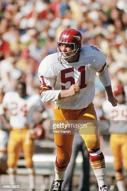 Washington Redskins John Didion in action on defense vs San Francisco 49ers at Kezar Stadium San Francisco CA CREDIT Fred Kaplan