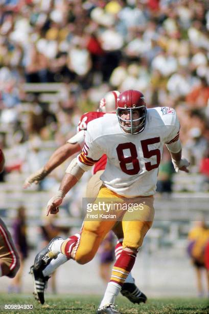Washington Redskins John Hoffman in action vs San Francisco 49ers at Kezar Stadium San Francisco CA CREDIT Fred Kaplan
