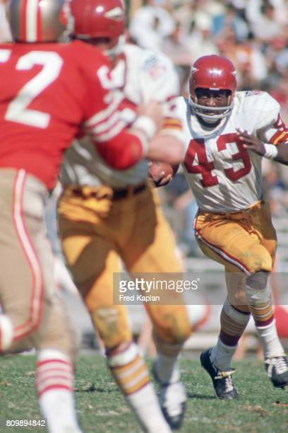 Washington Redskins Larry Brown in action rushing vs vs San Francisco 49ers at Kezar Stadium San Francisco CA CREDIT Fred Kaplan