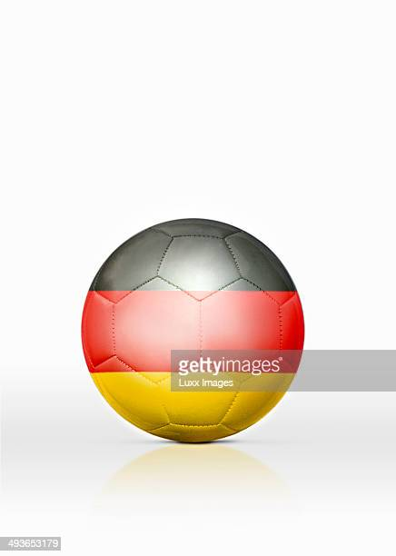 Football with German flag on it