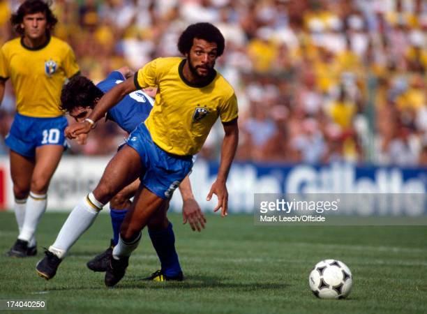 Football World Cup 1982 Brazil v Italy Junior