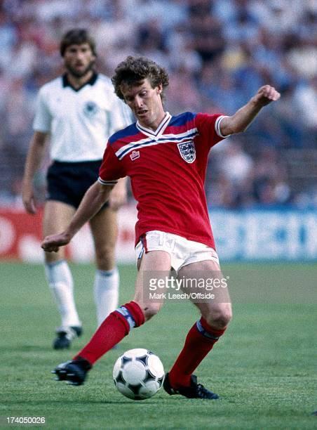 Football World Cup 1982 England v West Germany Graham Rix