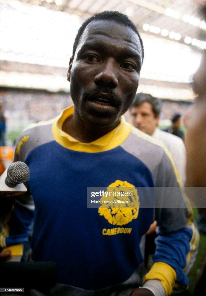 FIFA World Cup 1990 : News Photo