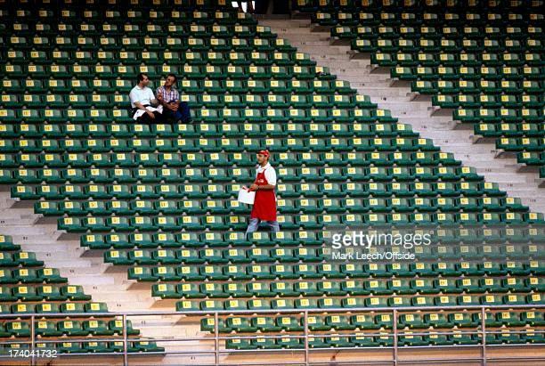 Football World Cup 1990, Czechoslovakia v Costa Rica, Empty seats galore in the stadium at Bari.