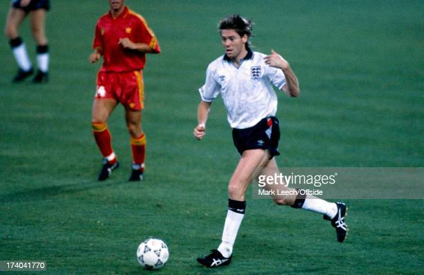 Football World Cup 1990 England v Belgium Chris Waddle