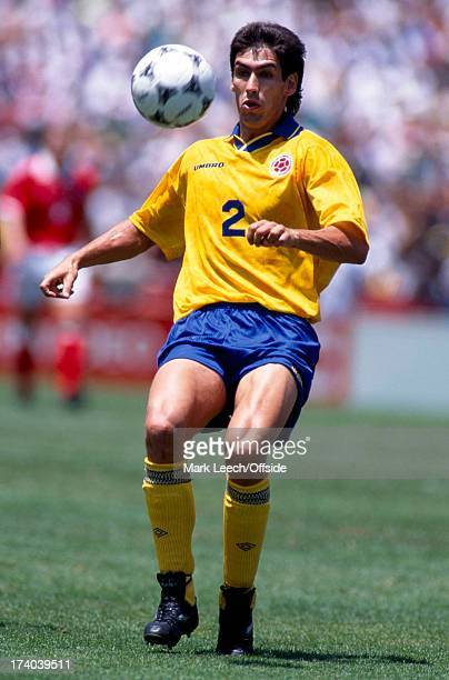 Football World Cup 1994 Switzerland v Colombia Andres Escobar
