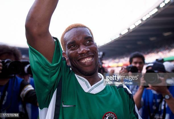 Football World Cup 1998, Nigeria v Bulgaria, Jay Jay Okocha.