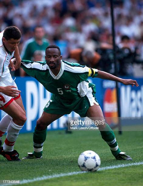 Football World Cup 1998, Nigeria v Bulgaria, Uche Okechukwu.