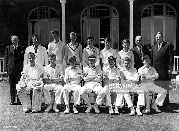 Football/Cricket Canterbury Kent A picture of the South of England Schoolboys side The team was captained by a young Bobby Moore and also included...