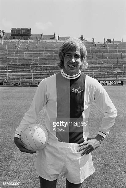Footballer Alan Birchenall of Crystal Palace FC UK 25th August 1971