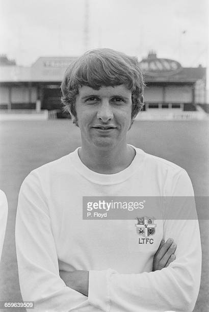 Footballer Alan Slough of Luton Town FC UK 3rd August 1971