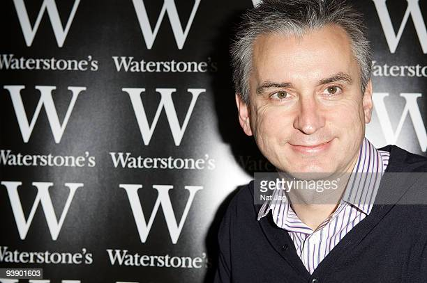 Footballer Alan Smith signs copies of 'Arsenal The Making of a Modern Superclub' at Waterstone on December 4 2009 in Enfield England