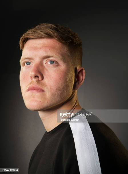 Footballer Alfie Mawson is photographed for the Guardian on June 6 2017 in Reading England