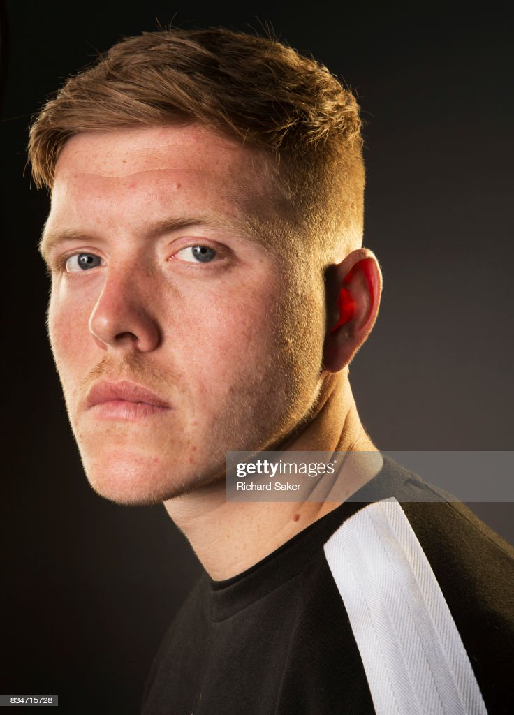 Footballer Alfie Mawson is photographed for the Guardian on June 6, 2017 in Reading, England.
