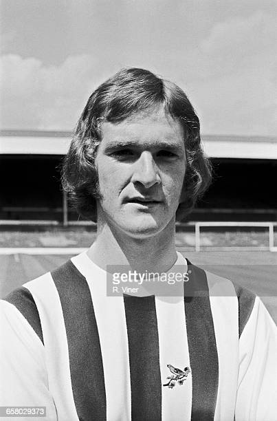Footballer Ally Robertson of West Bromwich Albion FC UK 20th July 1971