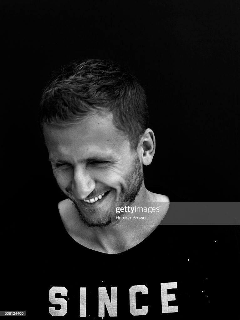 Footballer Almen Abdi is photographed for Sports magazine on August 27, 2015 in London, England.