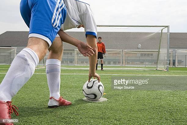 Footballer and goalkeeper