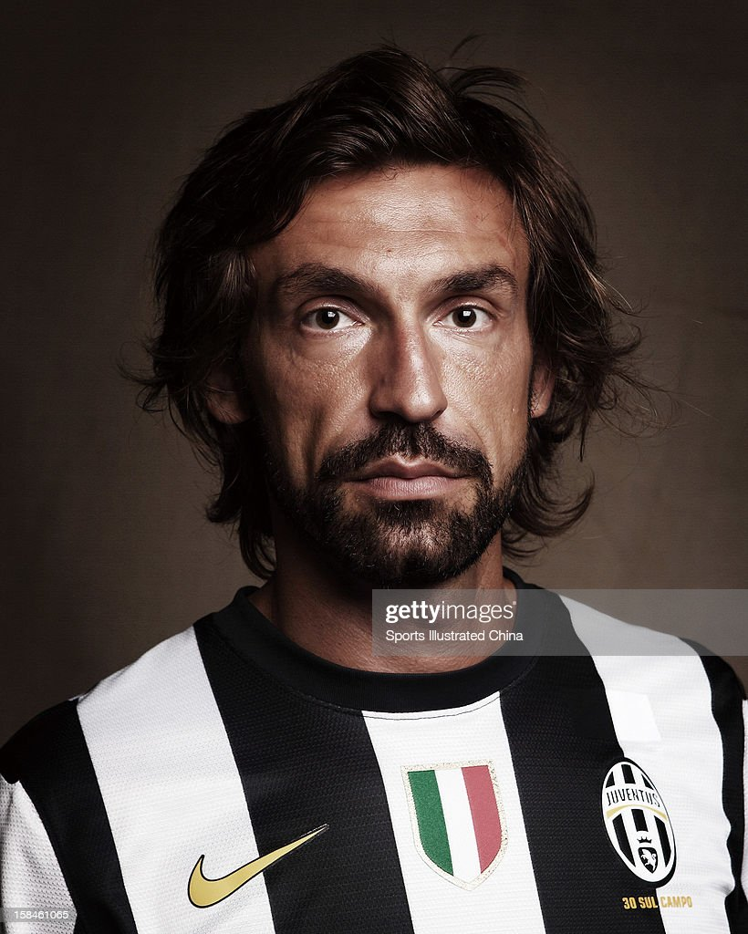 Andrea Pirlo, Sports Illustrated China, August 9, 2012 : News Photo